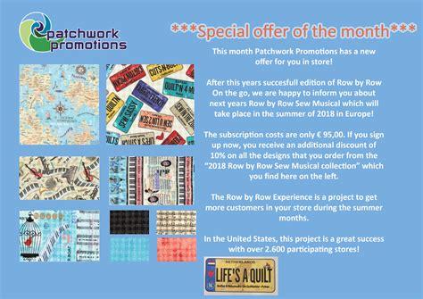 Patchwork Promotions - aanbieding patchwork promotions