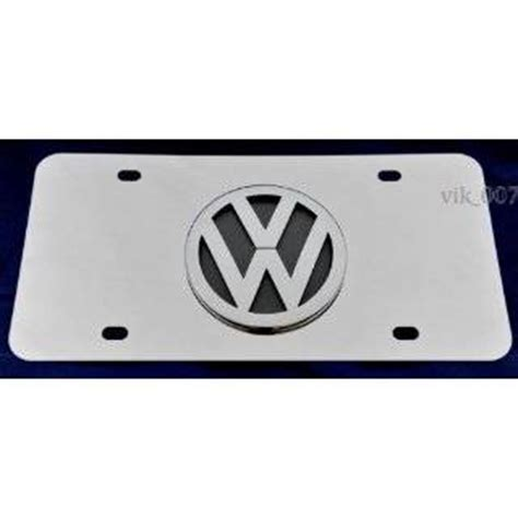 catron volkswagen vw pomona ca license plate frame 1956