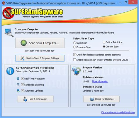 superantispyware for android superantispyware 5 7 review