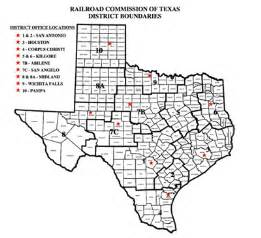 rrc district map services lone gas consulting