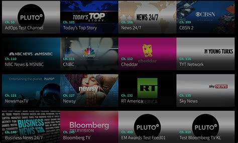 live tv channel what is pluto tv new pluto channels devices and free
