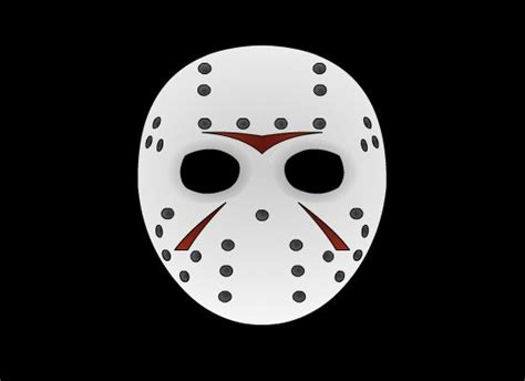 jason mask template jason mask by 3nake on deviantart