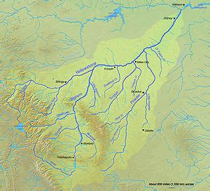 The soldiers in the powder river expedition followed powder river from