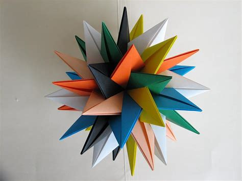 Origami Mathematical Models - modular origami models 37170 on wookmark