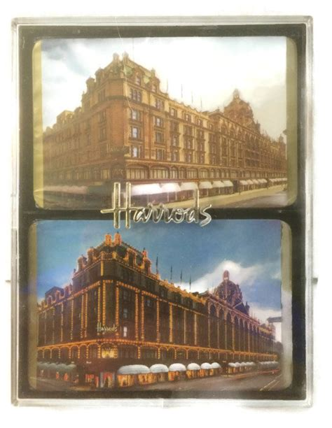 Harrods E Gift Card - vintage harrods london department store playing by thriftytheresa