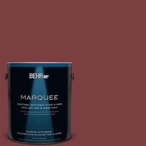 cinnamon cherry color behr marquee 1 gal s h 140 cinnamon cherry satin enamel