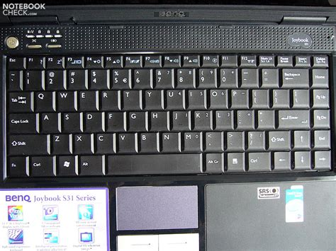 Keyboard Laptop Benq Joybook review benq joybook s31 notebook notebookcheck net reviews