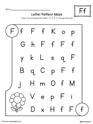f pattern web reading pre k letter recognition worksheets the best and most