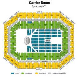 dome map seating carrier dome concert seating chart carrier dome concert