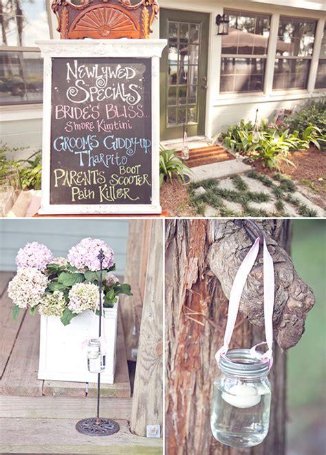 rustic wedding reception ideas
