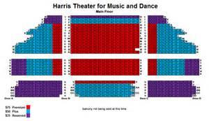 Amazing North Shore Performing Arts Center #8: HarrisTheaterSeatingChart.jpg