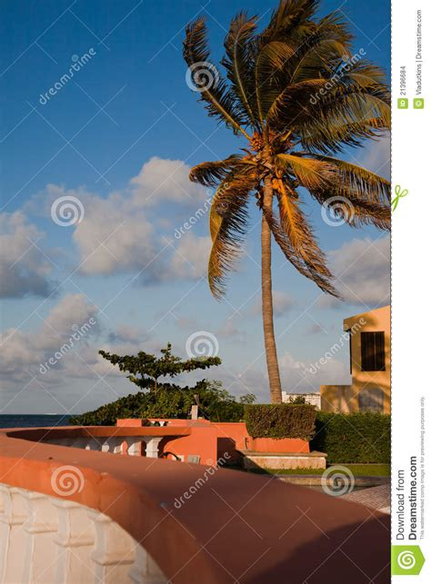 beach house side beach side house stock images image 21396684