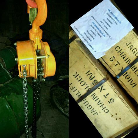 Katrol Kapal kami jual chain block katrol rantai chain