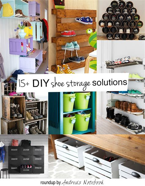 diy shoe organizer ideas diy family shoe storage solutions andrea s notebook