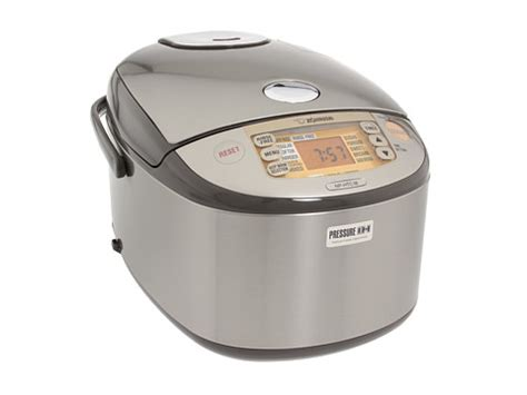 zojirushi induction heating pressure rice cooker zojirushi np htc18xj induction heating pressure 10 cup rice cooker