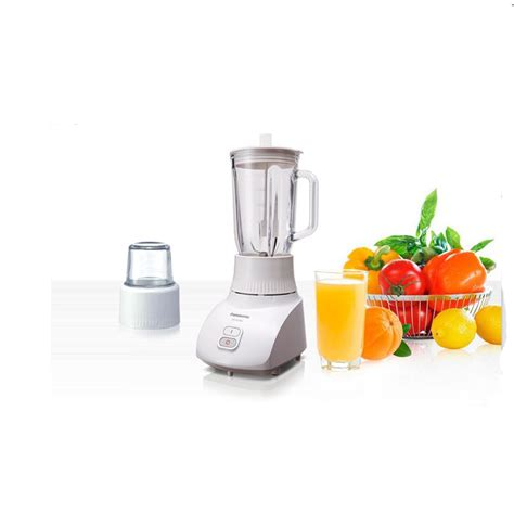 Blender Panasonic 2 Gelas Kaca Jumbo 1462 Mill Clear Glass Slv panasonic mx gx1462 blender gelas kaca 3in1