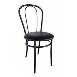 chaise bistrot pvc 286246 noir