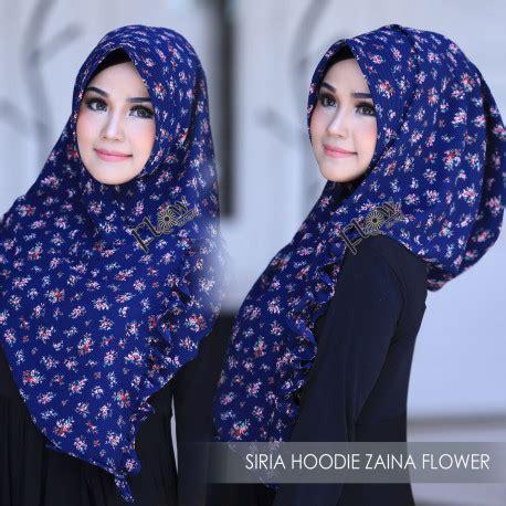 Jilbab Kerudung Segiempat Motif Wolfis Premium White Flower jilbab cantik jilbab siria zaina flower pusat busana gaun pesta muslim modern