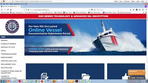 Us Vessel Documentation