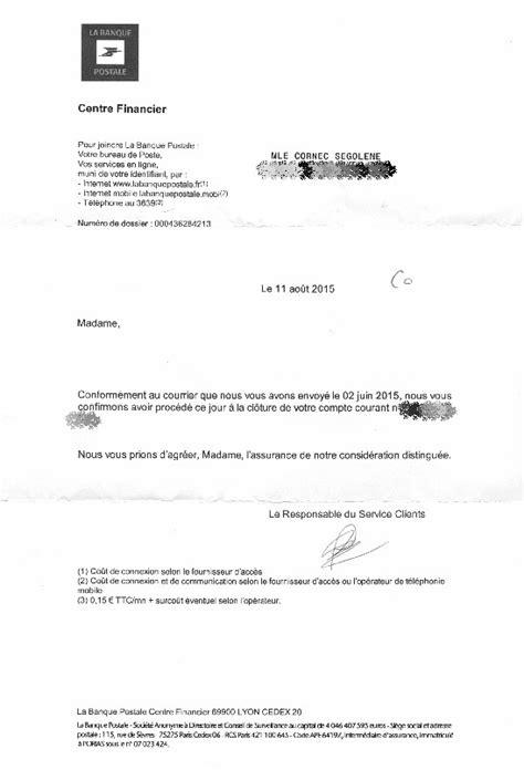 exemple lettre postale lettre de nouvelle lettre ouverte 224 la banque postale bruno cornec s