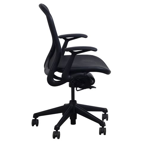 Knoll Chadwick Used Mesh Conference Chair Black