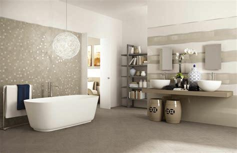 neutrale badezimmerideen wandgestaltung ideen f 252 r individuelle und gehobene