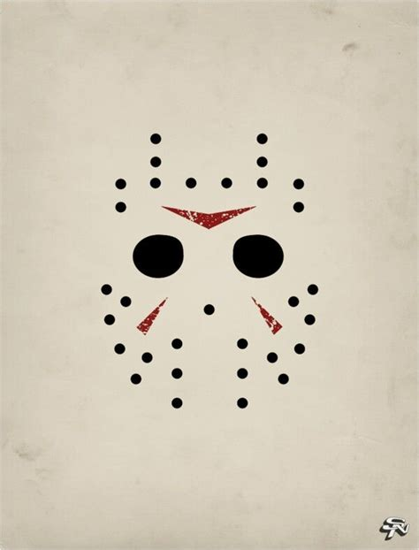 jason mask template 32 best eddy s friday the 13th 13th birthday images on