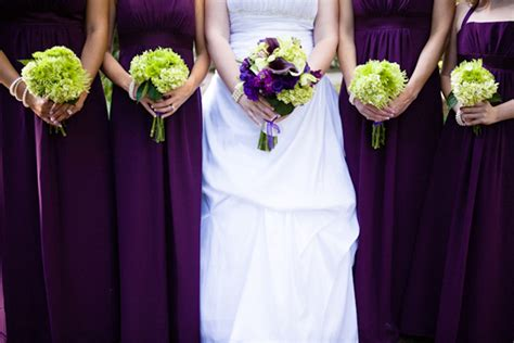 purple green florida wedding part 1 every last detail