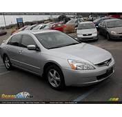 2005 Honda Accord EX Sedan Satin Silver Metallic / Gray