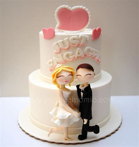 engagement cake ideas engagement cake cakes cake decorating daily