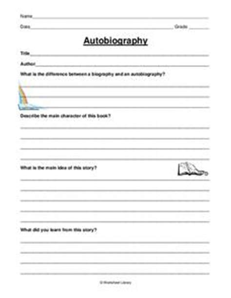 biography lesson plans grade 2 autobiography worksheet for 2nd 3rd grade lesson planet