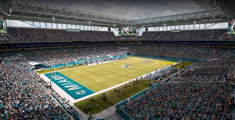 Multifamily Home Plans by Miami Dolphins Stadium Undergoes Major Makeover