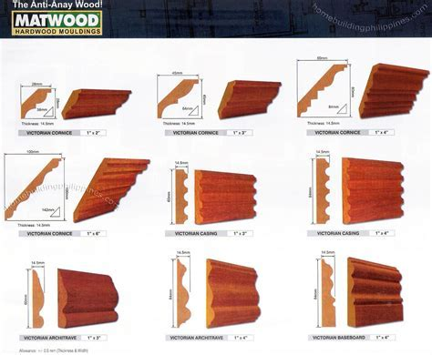 Hardwood Architectural Mouldings, Casings, Architrave