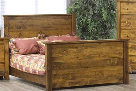 rough bed rough sawn queen bed canadian solid wood bedroom furniture