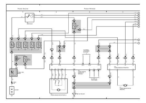 wiring diagram power window toyota toyota power windows wiring diagram
