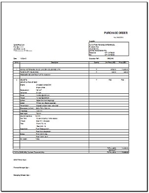 Kitchen Curtain Design Purchase Order In Excel Format With Auto Calculation