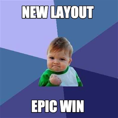 Epic Win Meme - meme creator new layout epic win meme generator at