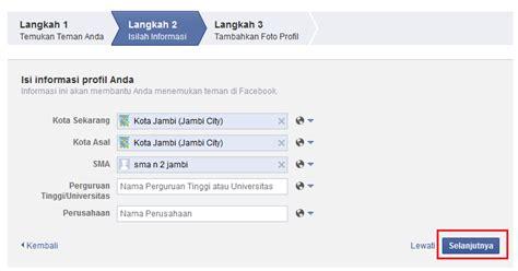 ingin membuat akun facebook cara membuat akun facebook minahesemka