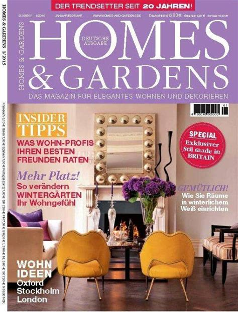 home design magazine germany apartment in kensington london homes gardens germany