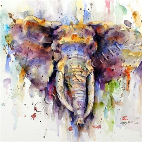 17 best ideas about elephant watercolor on elephant paintings of elephants and