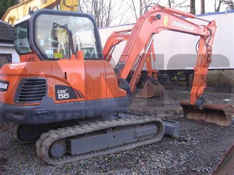 doosan dx55 excavator parts