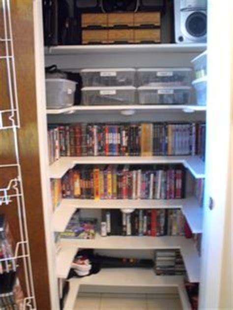 Closet Dvd by Dvd Storage On
