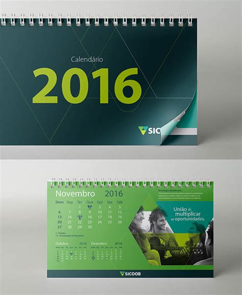 Design Table Calendar 2016 | 25 best new year 2016 wall desk calendar designs for