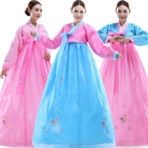 Hanbok Import Korea Free Sokchima 36 korean traditional dress embroider hanbok korean dress ancient clothing luxury