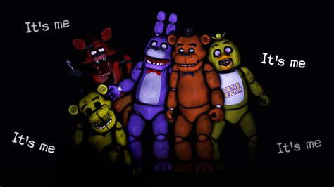 Sfm fnaf animatronics by lonewolfhbs fan art wallpaper games 2014 2015