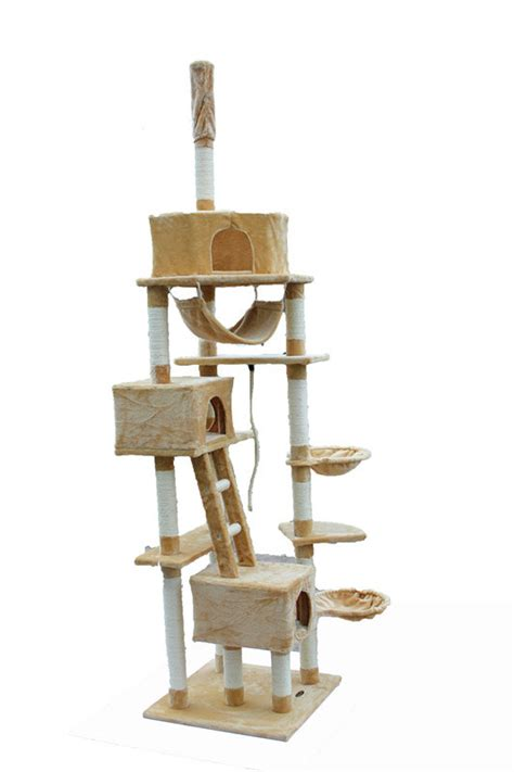 china best cat trees china floor to ceiling cat tree