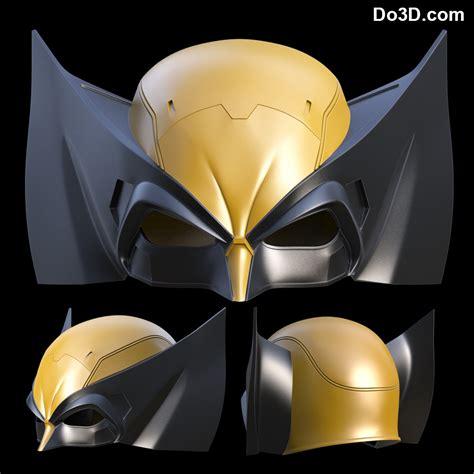 printable wolverine mask 3d printable model x men wolverine classic helmet mask