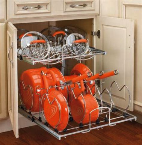 Cheapest Kitchen Cabinet by Creative Storage Solutions For Bulky Pots And Pans