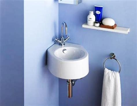 Small Space Bathroom Sinks by Chic Sinks For Small Spaces Corner Bathroom Sinks Creating