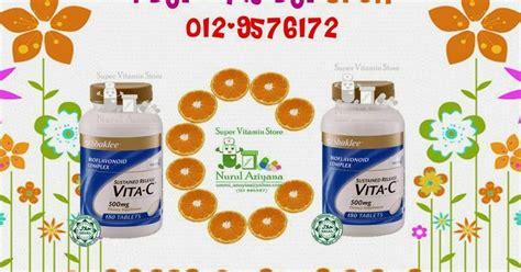 Vitamin Di Farmasi Kebaikan Vitamin C Sr 500mg Shaklee Berbanding Brand